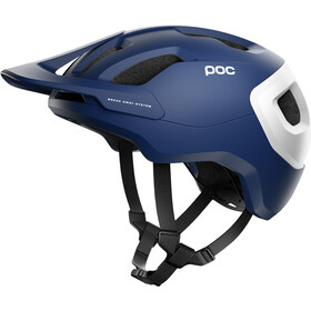 POC Axion Spin Helm lead blue matt